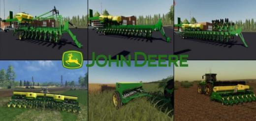 Photo of FS19 – John Deere Seeders Pack V1