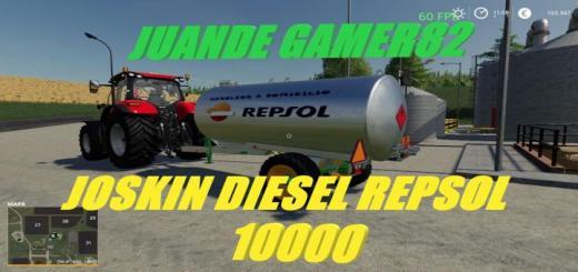 Photo of FS19 – Joskin Diesel Repsol V1