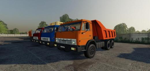 Photo of FS19 – Kamaz 55111 Sovok V1