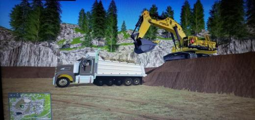 Photo of FS17 – Kenworth T440V2 Dump Truck V1.0.0.2