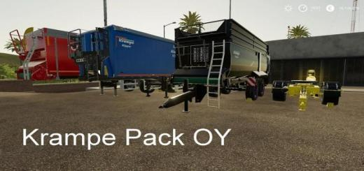Photo of FS19 – Krampe Pack Oy Mp V19.7.1