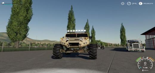 Photo of FS19 – Lifted Humvee Camo V1