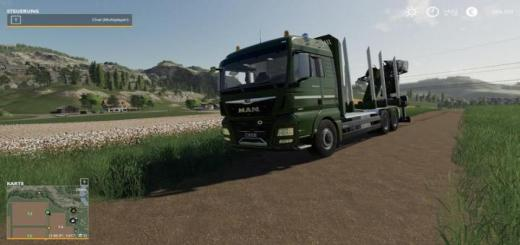 Photo of FS19 – Man Forest Truck Mp V1.4.6