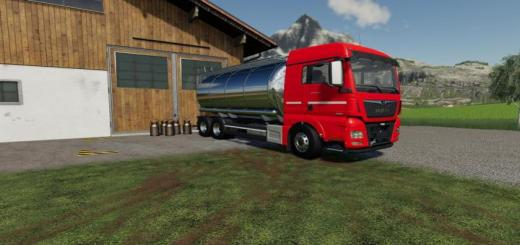 Photo of FS19 – Man Tgx Tanker Truck V1
