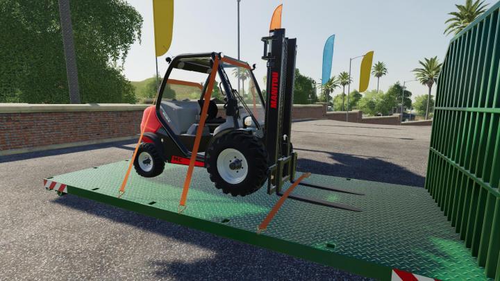 FS19 - Manitou Forklift V1