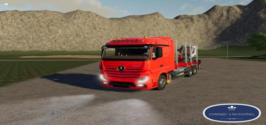 Photo of FS19 – Mercedes-Benz Actros Forestry 1845 V1