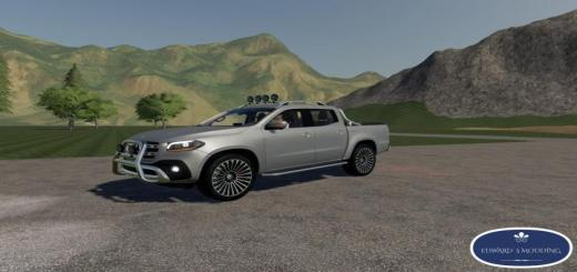 Photo of FS19 – Mercedes X Class V2