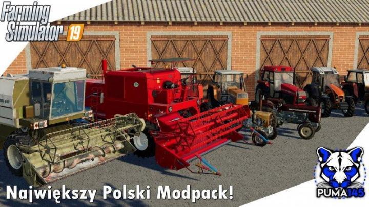 FS19 - Modpack Polskich Maszyn