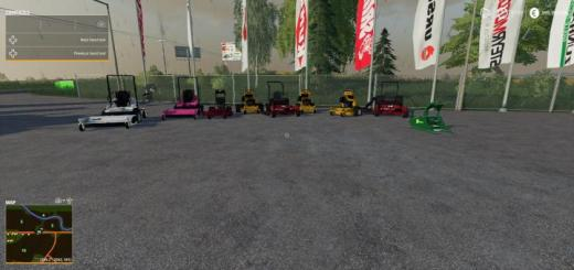 Photo of FS19 – Mowerpack V1.1