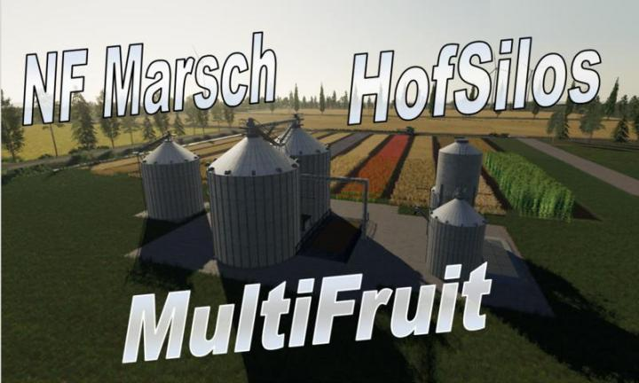 FS19 - Multifruit Silo With Extension V4