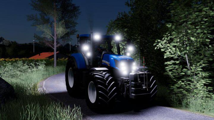 FS19 - New Holland T7 Update V1
