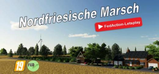 Photo of FS19 – North Frisian March Ohne Graben Map V2
