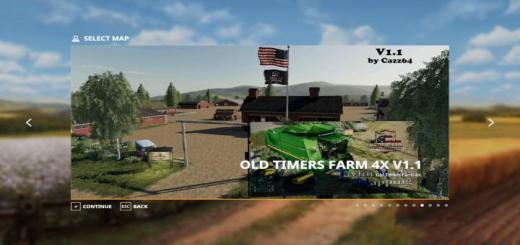Photo of FS19 – Old Timers Farm Map V1.1