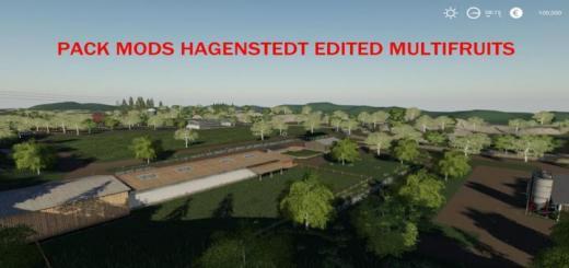 Photo of FS19 – Pack Mods Hagenstedt Edited Multifruit V1