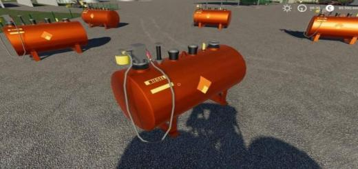 Photo of FS19 – Placeable Diesel Tank V2.0.2.0