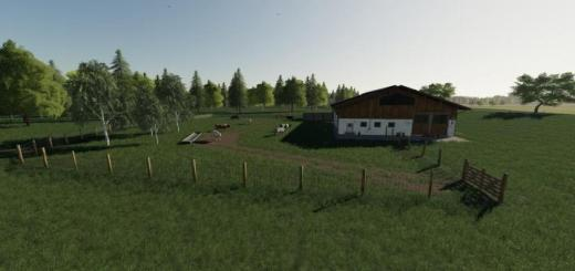 Photo of FS19 – Placeable Large Cow Pasture V1.0.2.0