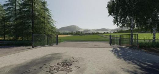 Photo of FS19 – Placeable Metal Gates V1