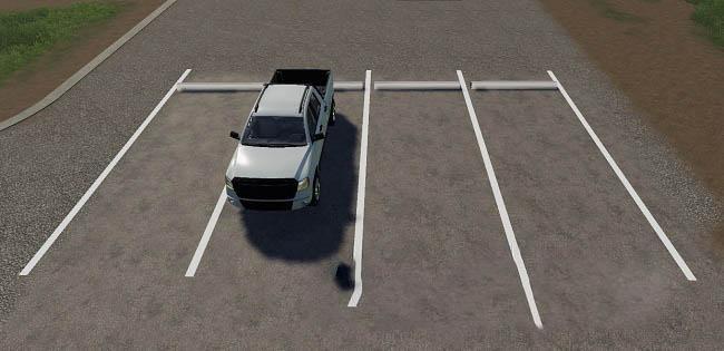 Photo of FS19 – Placeable Parking Spot Modpack V1