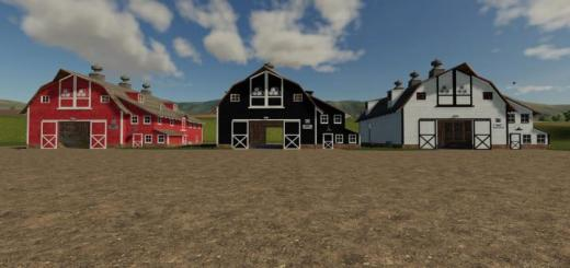 Photo of FS19 – Placeable Straw Barn V1