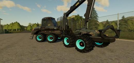 Photo of FS19 – Ponsse Buffalo With Clamping Stake V1