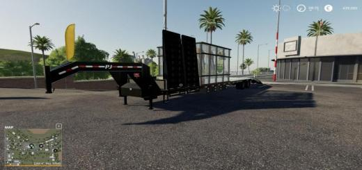 Photo of FS19 – Remake 40Ft Pj Lawn Trailer V1