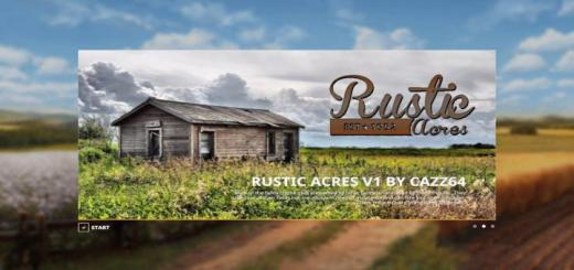 Photo of FS19 – Rustic Avres Map V1