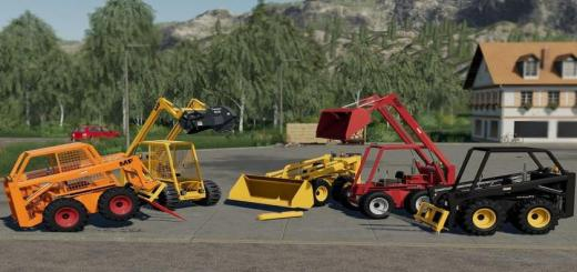 Photo of FS19 – Skid Steer Loader 711 Pack V1