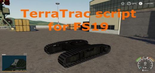Photo of FS19 – Terratrac Script V1