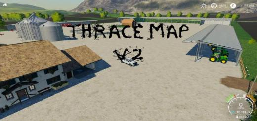Photo of FS19 – Thrace Map V2