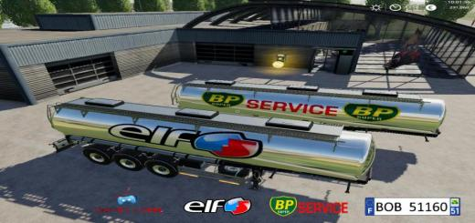 Photo of FS19 – Trailer Bp Elf By Bob51160 V1.0.0.3
