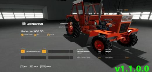 Photo of FS19 – Universal 650 D5 V1.1