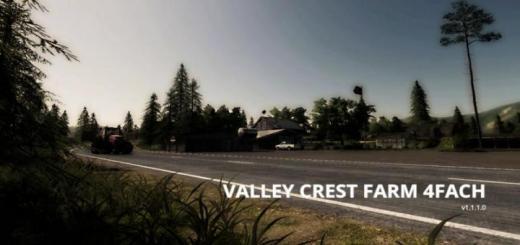 Photo of FS19 – Valley Crest Farm 4X Map V1.1.1