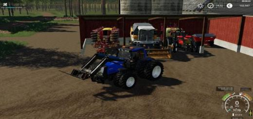 Photo of FS19 – Valtra Hitech 8050-8950 V1.2