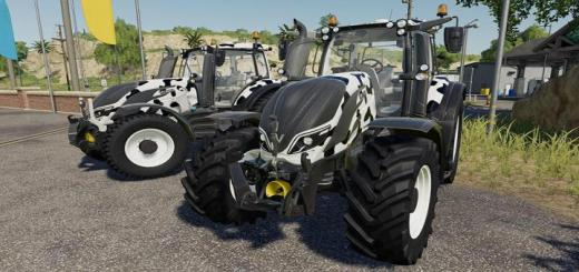 Photo of FS19 – Valtra T Series Cow Edition V1.0.0.1
