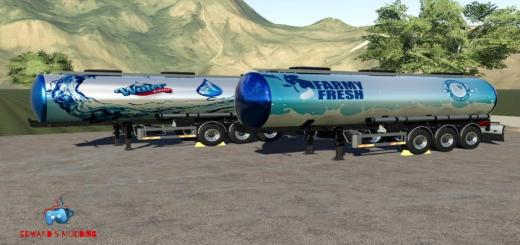 Photo of FS19 – Vanhool Cistern V1