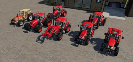 Photo of FS19 – Zetor Tractors Pack V1.1