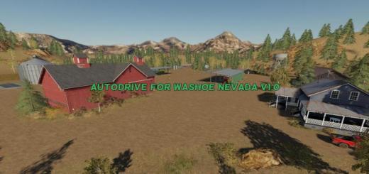 Photo of FS19 – Autodrive For Washoe Nevada V1