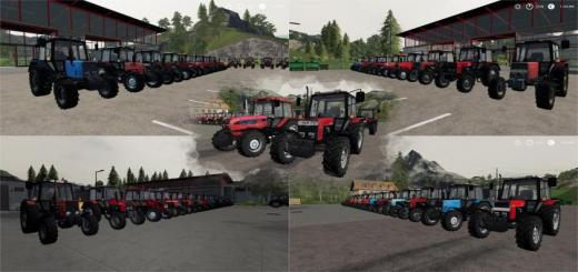 Photo of FS19 – Belarus Mtz Pack V2
