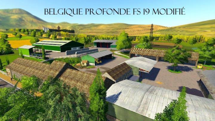 FS19 - Belgique Profonde Map V2.0.0.1