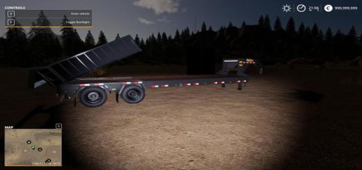 Photo of FS19 – Big Tex 22 Gph With A Dump Box V1