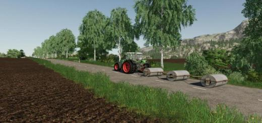 Photo of FS19 – Concrete Meadow Rolls V1