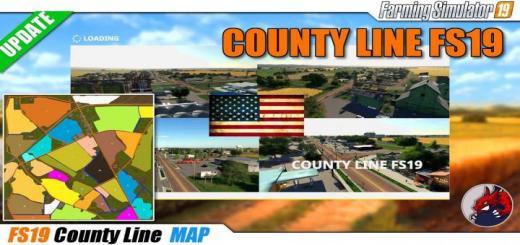 Photo of FS19 – County Line Seasons 19 Autodrive V1