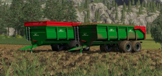 Photo of FS19 – Coutand 18T Trailer V1