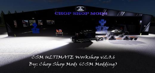 Photo of FS19 – Csm Ultimate Workshop V2.0.6
