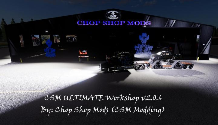 FS19 - Csm Ultimate Workshop V2.0.6
