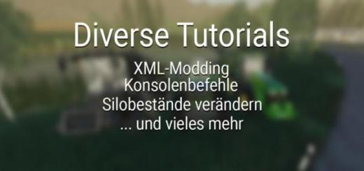 Photo of FS19 – Diverse Tutorials – Xml Modding And More V1