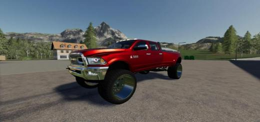 Photo of FS19 – Dodge Ram 3500 Lifted V3