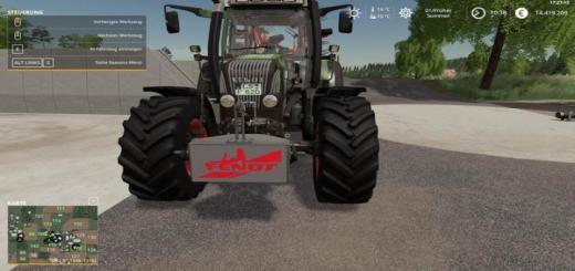 Photo of FS19 – Fendt Weight 800Kg V1