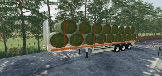 Photo of FS19 – Fliegl Flatbed Semitrailer V1