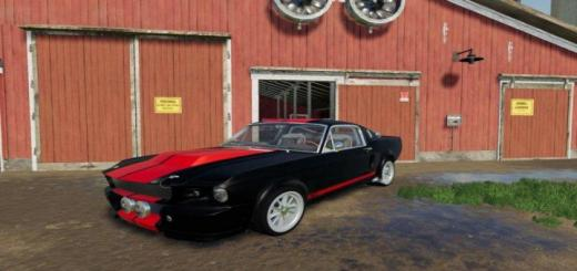 Photo of FS19 – Ford Mustang Gt 500 Eleanor